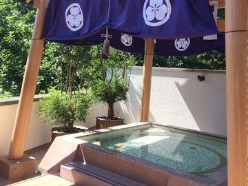 土俵のお風呂!(宮本の湯)