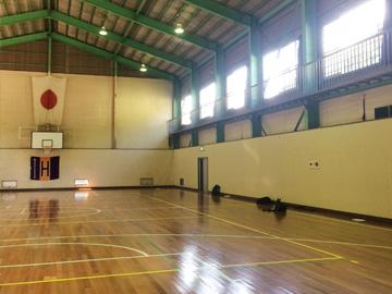 小鹿荘・ネクストオジカの私有体育館