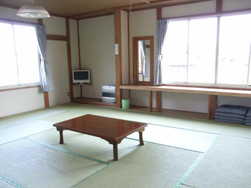 客室の様子。富士山ビューの部屋です